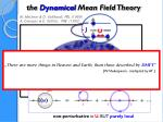 the dynamical mean field theory