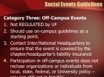 social events guidelines4