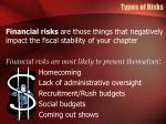 types of risks5