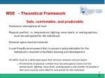 mse theoretical framework3