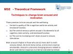 mse theoretical framework7