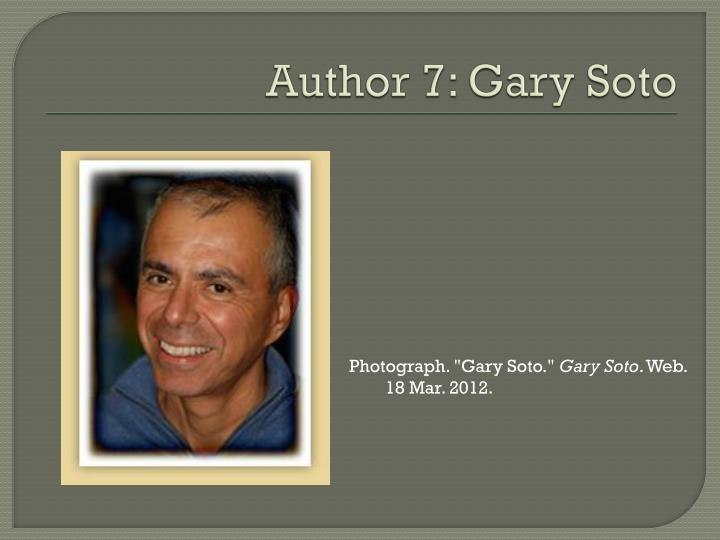 gary soto desire - the academy of american poets is the largest membership-based nonprofit organization fostering an appreciation for contemporary poetry and supporting american poets.