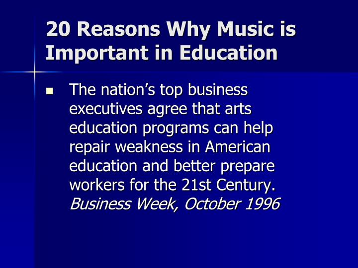 20 reasons why music is important in education2