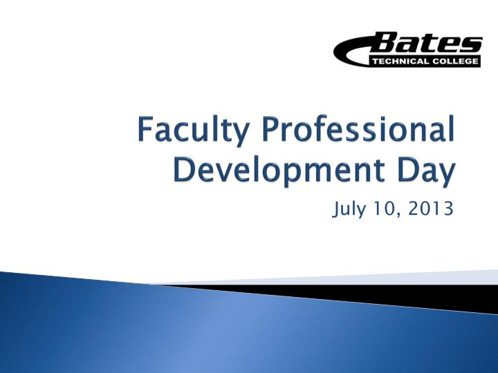 faculty professional development day n.
