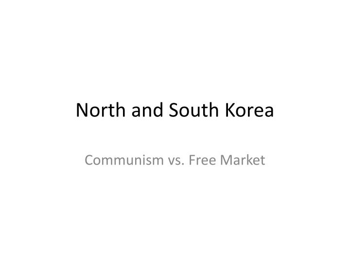north and south korea n.
