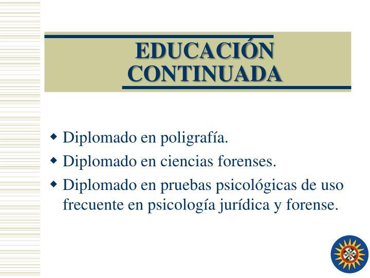 EDUCACIÓN CONTINUADA