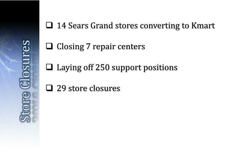 14 Sears Grand stores converting to Kmart