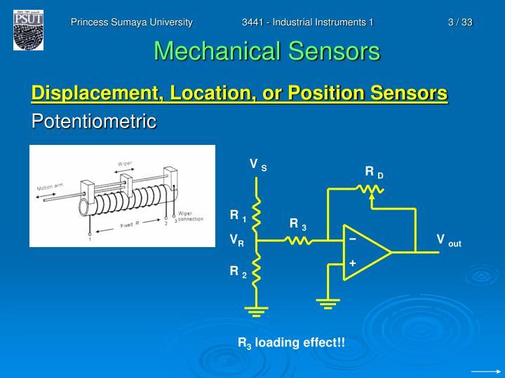 Mechanical sensors1