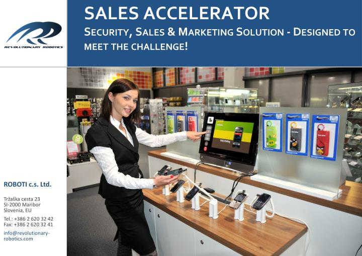sales accelerator security sales marketing solution designed to meet the challenge n.
