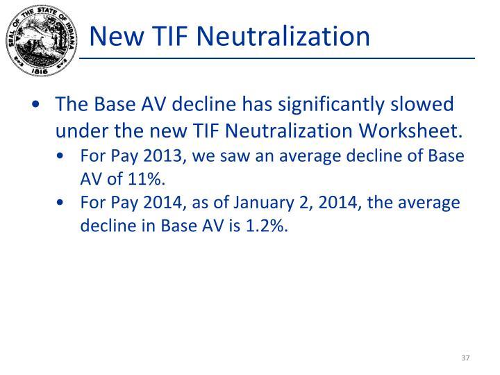 New TIF Neutralization
