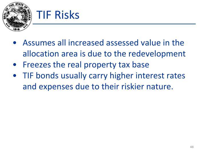 TIF Risks