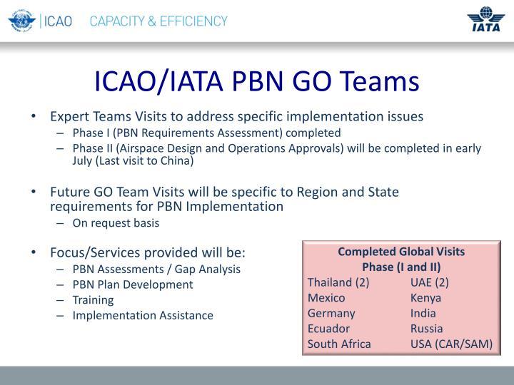 ICAO/IATA PBN GO Teams