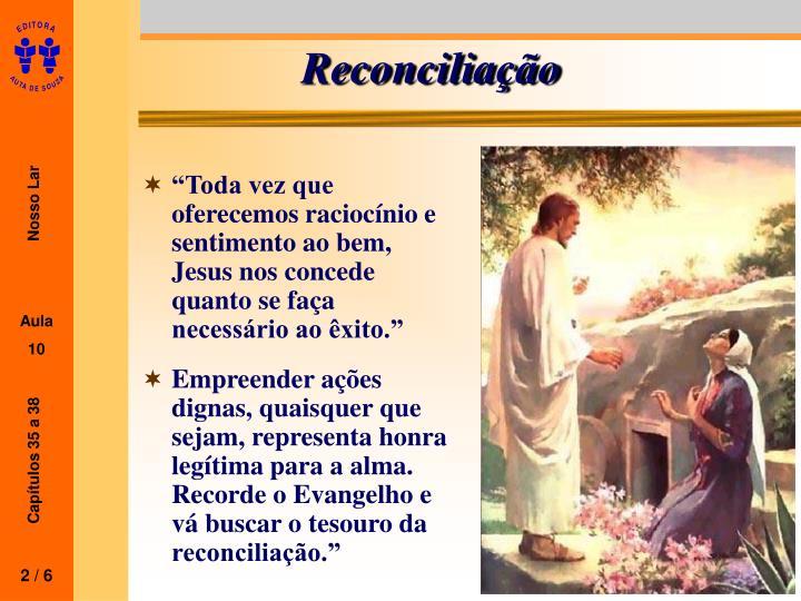 Reconcilia o