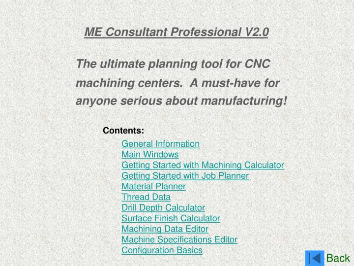 me consultant professional v2 0 n.