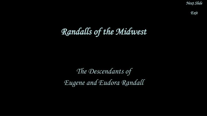 randalls of the midwest n.