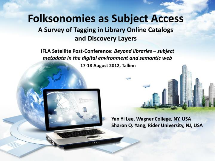 folksonomies as subject access a survey of tagging in library online catalogs and discovery layers n.