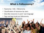 what is folksonomy