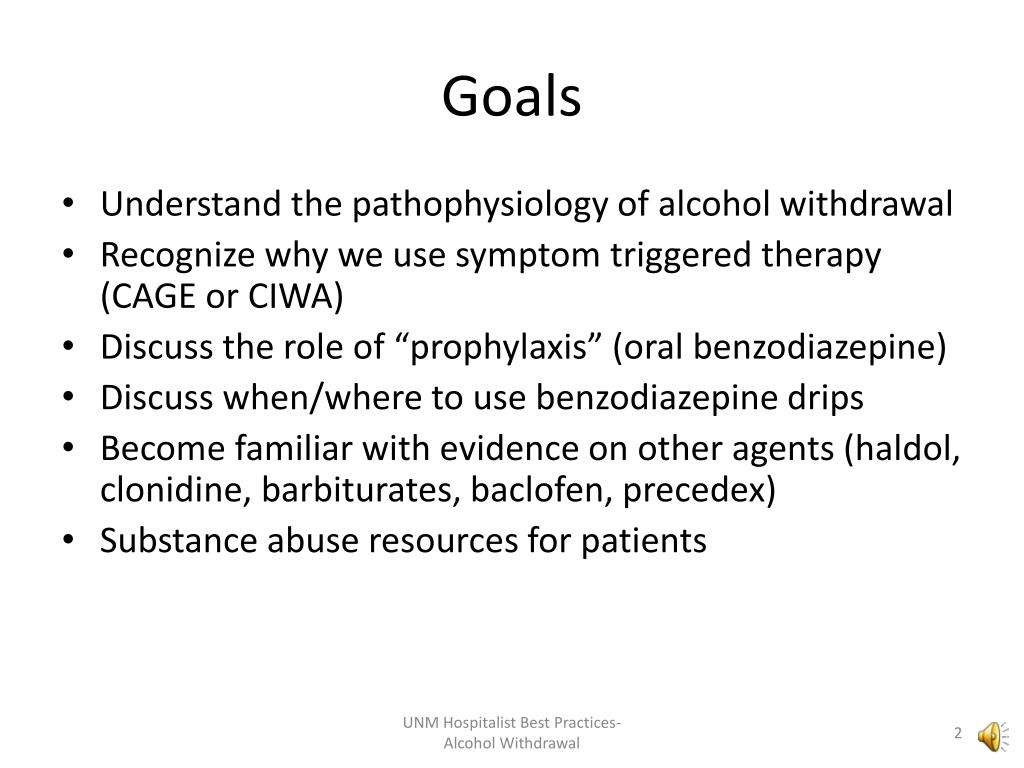 PPT - Alcohol Withdrawal PowerPoint Presentation - ID:4852497