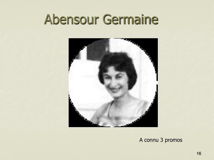 Abensour Germaine