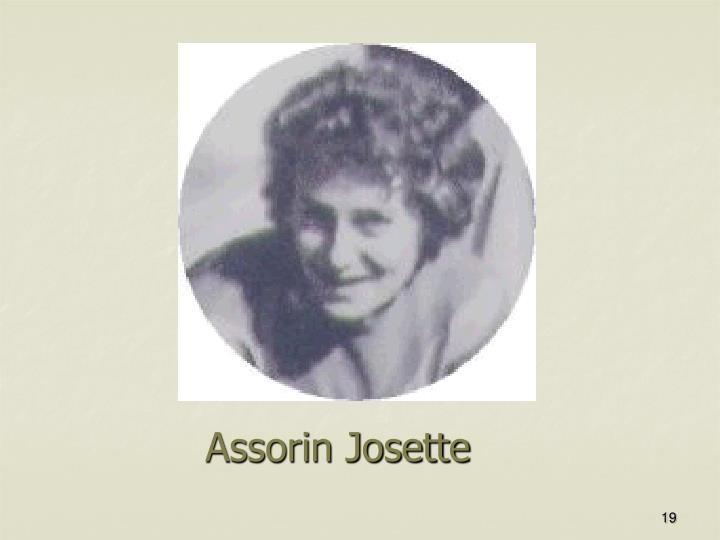 Assorin Josette