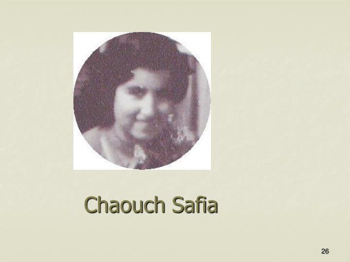 Chaouch Safia