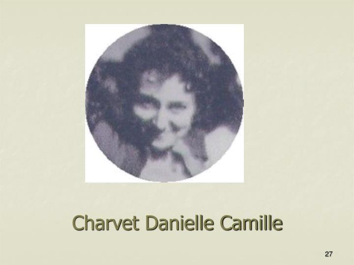 Charvet Danielle Camille