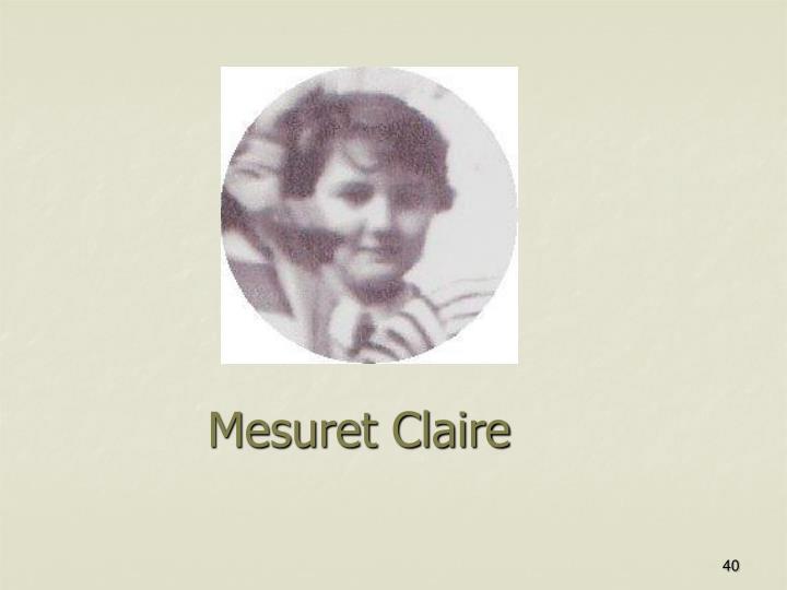 Mesuret Claire