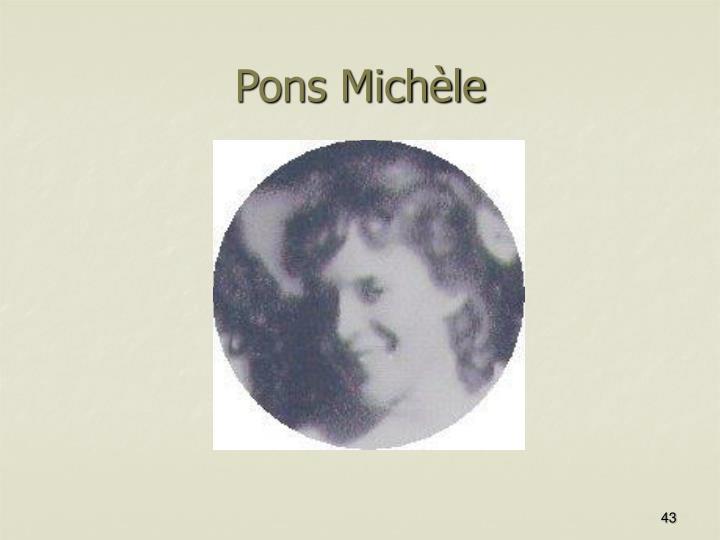 Pons Michèle