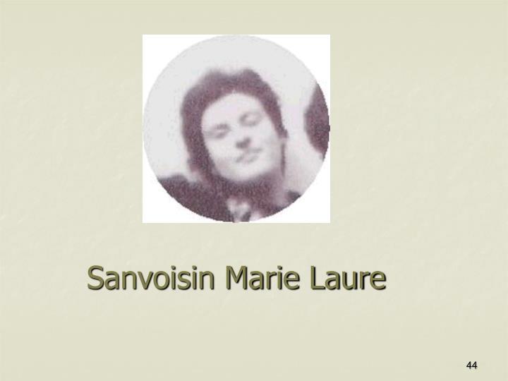 Sanvoisin Marie Laure