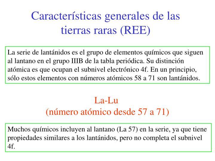 Ppt tierras raras powerpoint presentation id4852791 caractersticas generales de las tierras raras ree urtaz Choice Image