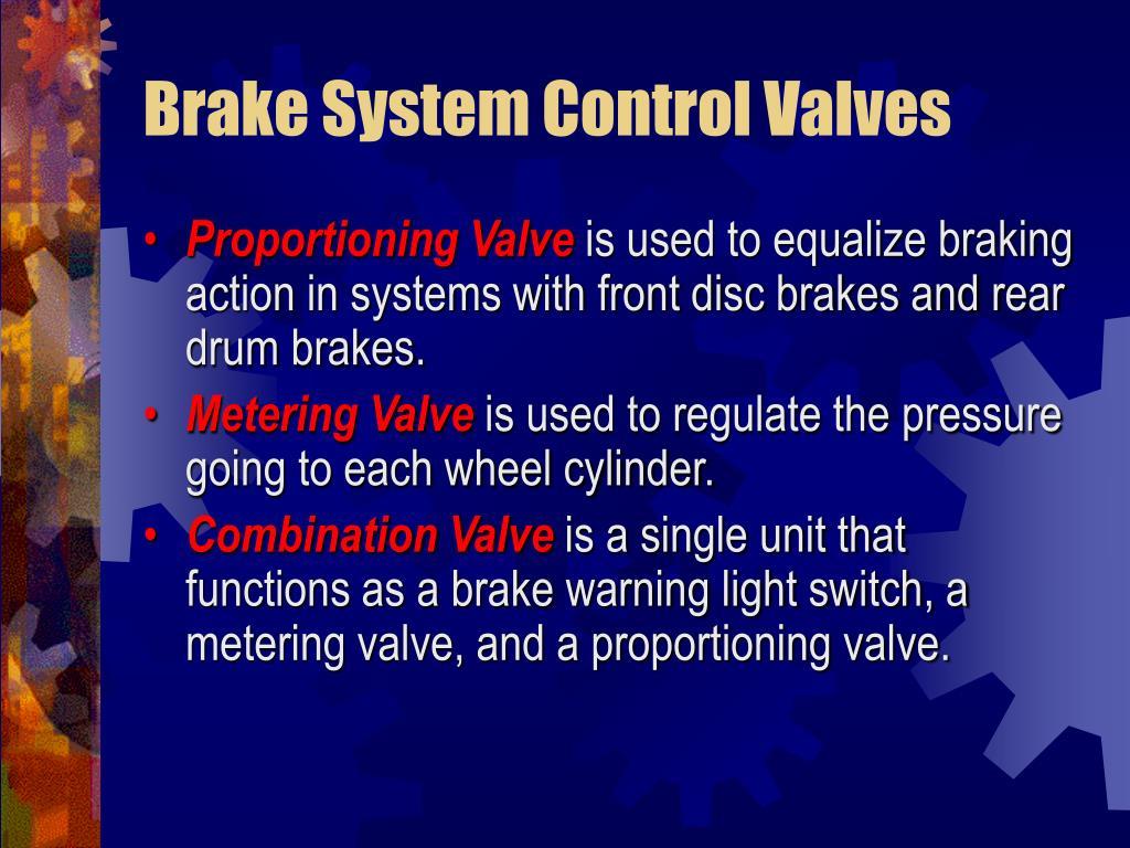 PPT - Brake System Fundamentals PowerPoint Presentation - ID