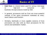 basics of it19
