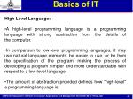 basics of it36