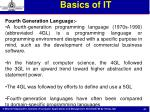 basics of it37