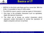 basics of it5