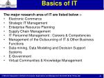 basics of it53
