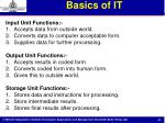 basics of it9