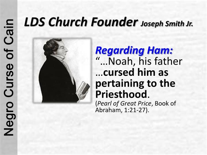 LDS Church Founder