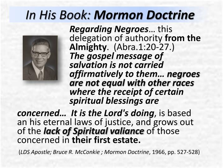 In His Book: