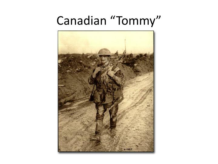 canadian tommy n.
