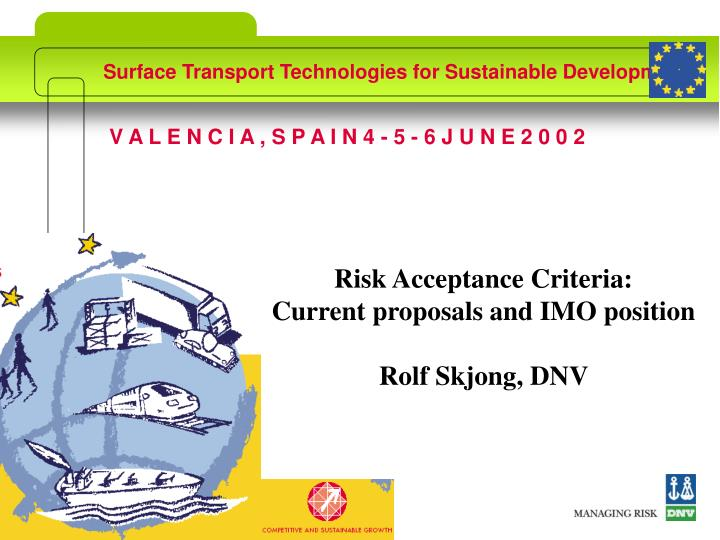 Surface transport technologies for sustainable development