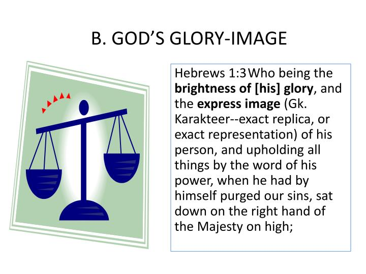 B. GOD'S GLORY-IMAGE