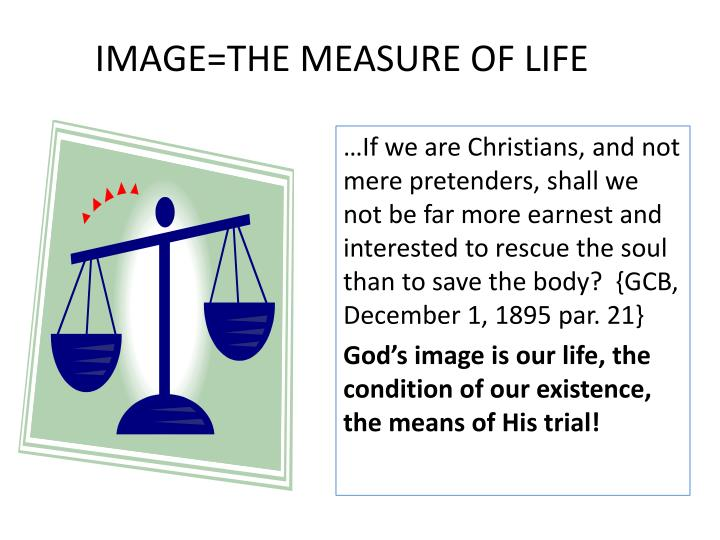 IMAGE=THE MEASURE OF LIFE