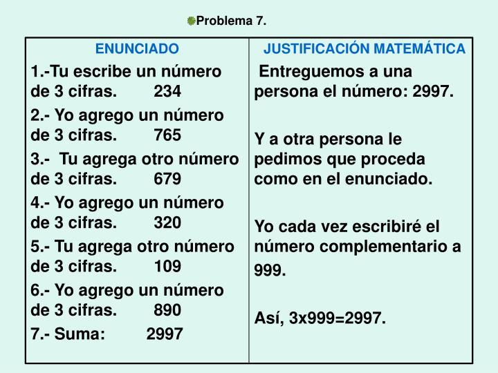 Problema 7.