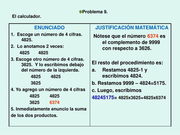 Problema 9.