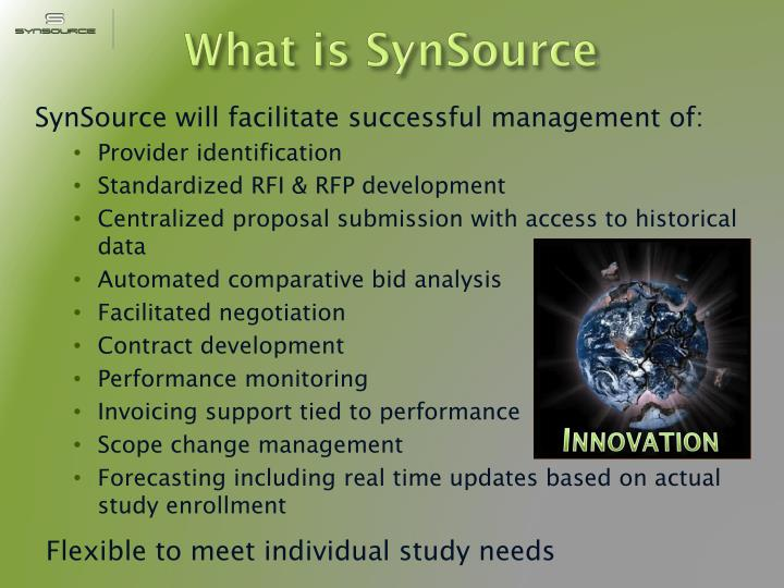 What is synsource