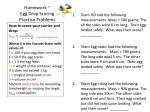 homework egg drop scoring practice problems
