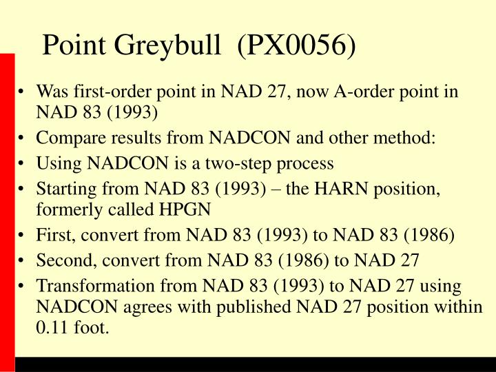 Point Greybull  (PX0056)