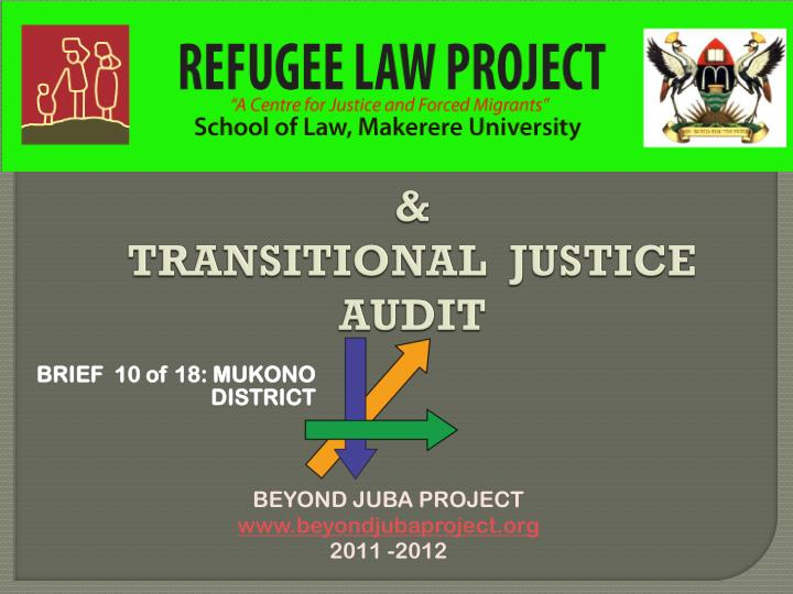national reconciliation transitional justice audit n.