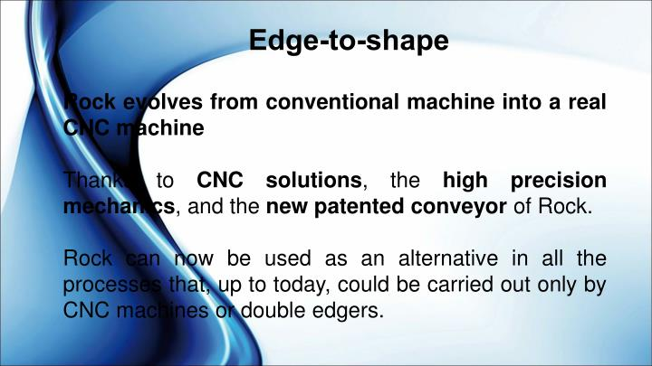 Edge-to-shape